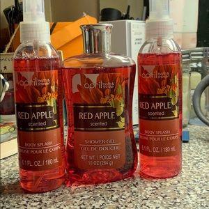 Other - April Bath & Shower; Red Apple
